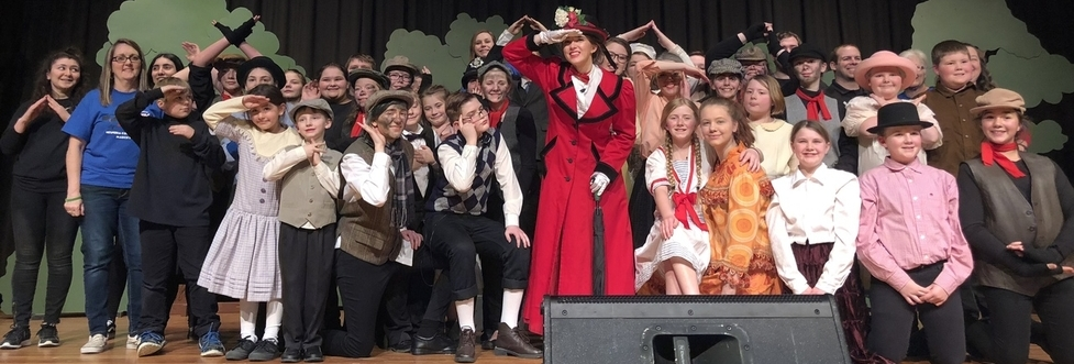 Theater production of Mary Poppins